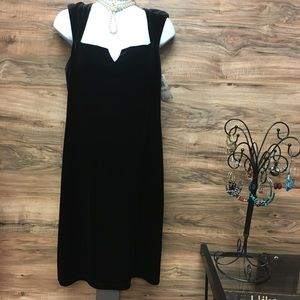 David Mister dress authentic black velvet.